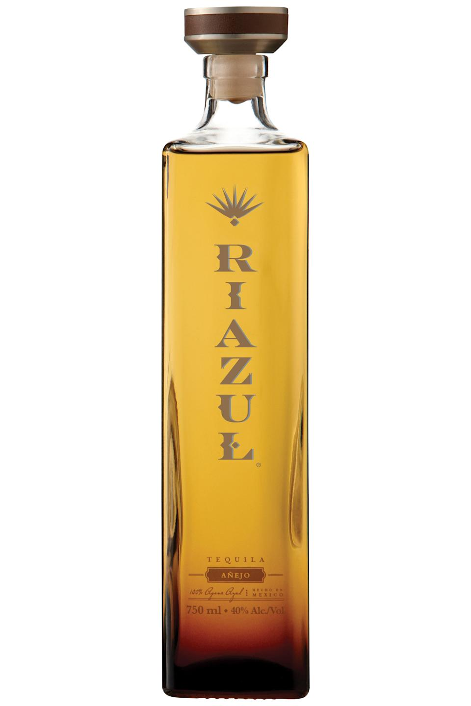 """<p><strong>tequila</strong></p><p>drizly.com</p><p><strong>$58.95</strong></p><p><a href=""""https://go.redirectingat.com?id=74968X1596630&url=https%3A%2F%2Fdrizly.com%2Friazul-tequila-anejo%2Fp9454&sref=https%3A%2F%2Fwww.townandcountrymag.com%2Fleisure%2Fdrinks%2Fg1458%2Fsipping-tequilas%2F"""" rel=""""nofollow noopener"""" target=""""_blank"""" data-ylk=""""slk:Shop Now"""" class=""""link rapid-noclick-resp"""">Shop Now</a></p><p>Riazul's Añejo tequila is distilled twice and then aged for two years in Cognac barrels. The unique barrels, made from wood indigenous to a forest in burgundy noted for naturally ingrained vanilla tannins, separate this tequila from the rest of the bunch.</p>"""