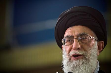 FILE PHOTO: Iran's Supreme Leader Ayatollah Ali Khamenei speaks live on television after casting his ballot in the Iranian presidential election in Tehran