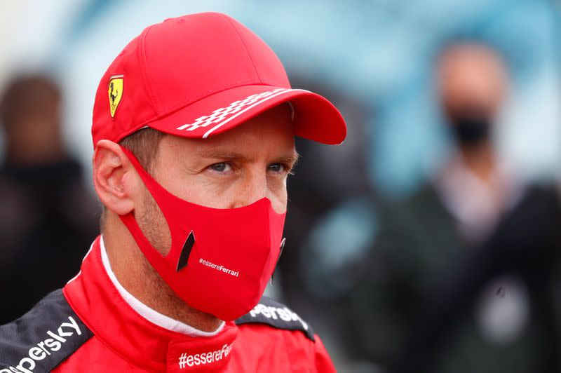 Motor racing: Vettel set to replace Perez at Racing Point