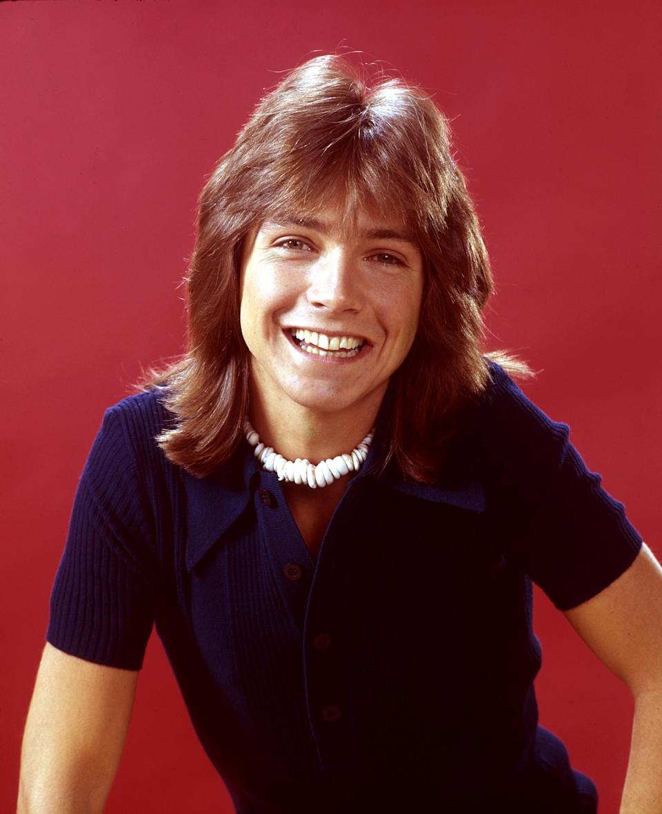 David Cassidy in his <i>Partridge Family</i> days. (Photo: ABC Photo Archives/ABC via Getty Images)