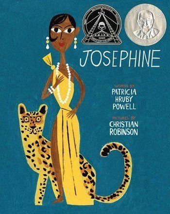 "Kids can learn about <a href=""https://www.huffingtonpost.com/entry/google-honors-activist-josephine-baker_us_5932eb69e4b02478cb9c0783"">Josephine Baker</a>, an African-American singer, dancer, and Civil Rights activist, in this picture book written by Patricia Hruby Powell and illustrated by Christian Robinson."