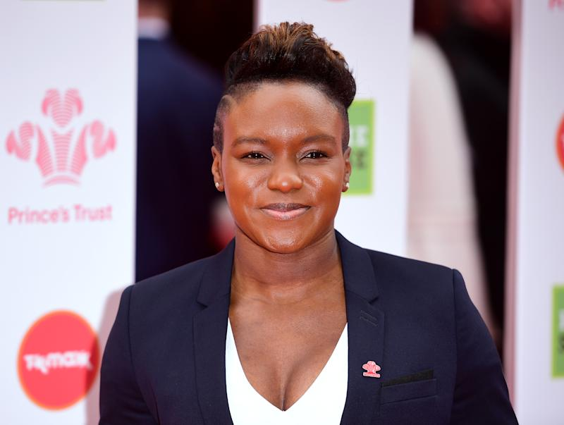 Nicola Adams attending the National Prince's Trust and TK Maxx & Homesense Awards 2019 held at the London Palladium. (Photo by Ian West/PA Images via Getty Images)