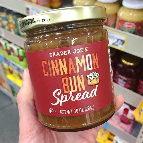 <p>Ready for your breakfast to taste like dessert? Trader Joe's just added Cinnamon Bun Spread to its shelves. We don't know much about this new offering, because it's very, very new, but we would imagine it tastes just like a cinnamon bun. We're sold!</p>