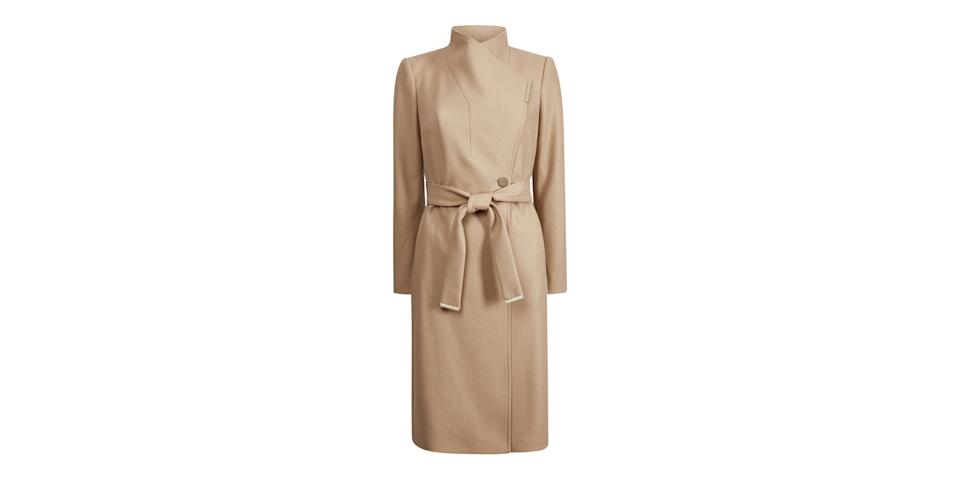 best winter coats: Ted Baker Rose Wool Wrap Coat
