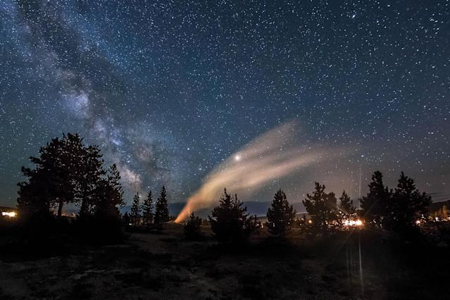 """<p>""""A big hope for fighting light pollution is to get the next generation engaged and inspired and we're hopeful our project can play a small part in that. (SKYGLOW/CATERS NEWS) </p>"""