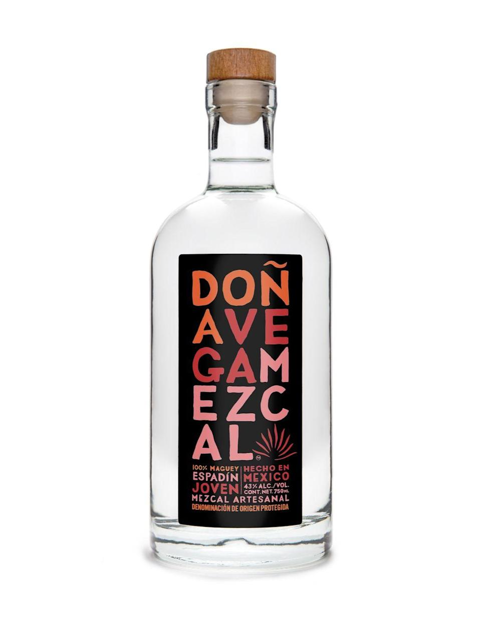 """<p>Founded by Sonya Vega Auvray, this vegan, organic, and a higher grade spirit produced in small-batch quantities reinvents the tradition of mezcal. It's a great gateway to those looking to develop a mezcal palate and the producers are an all-female family that has been farming in Oaxaca, Mexico for five generations.</p><p>Find out what retailers near you sell Doña Vega <a href=""""https://mezcaldonavega.com/found-here/"""" rel=""""nofollow noopener"""" target=""""_blank"""" data-ylk=""""slk:here"""" class=""""link rapid-noclick-resp"""">here</a>.</p><p><a class=""""link rapid-noclick-resp"""" href=""""https://www.bottlerocket.com/Dona-Vega-Mezcal-Espadin-750ml.html"""" rel=""""nofollow noopener"""" target=""""_blank"""" data-ylk=""""slk:BUY NOW"""">BUY NOW</a> <em><strong>Doña Vega Mezcal, $45, bottlerocket.com</strong></em></p>"""