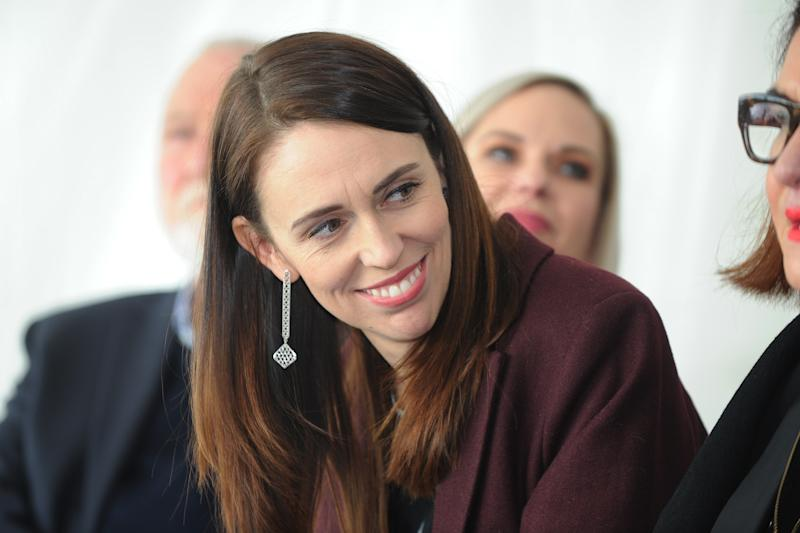 HASTINGS, NEW ZEALAND - JULY 08: Prime Minister Jacinda Ardern