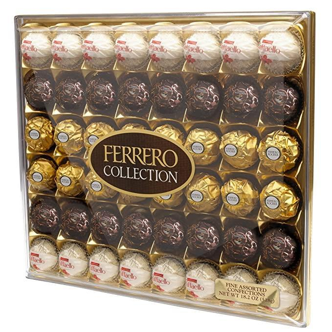 "<h2>Ferrero Rocher Fine Hazelnut Milk Chocolates</h2><br>A staple, a classic, and a surefire way to make your Valentine smile. <br><br><em>Shop</em> <strong><em><a href=""https://amzn.to/33BeDBt"" rel=""nofollow noopener"" target=""_blank"" data-ylk=""slk:Ferrero Rocher"" class=""link rapid-noclick-resp"">Ferrero Rocher</a></em></strong><br><br><strong>Ferrero Rocher</strong> Assorted Coconut Candy and Chocolates, $, available at <a href=""https://amzn.to/2VkA05w"" rel=""nofollow noopener"" target=""_blank"" data-ylk=""slk:Amazon"" class=""link rapid-noclick-resp"">Amazon</a>"