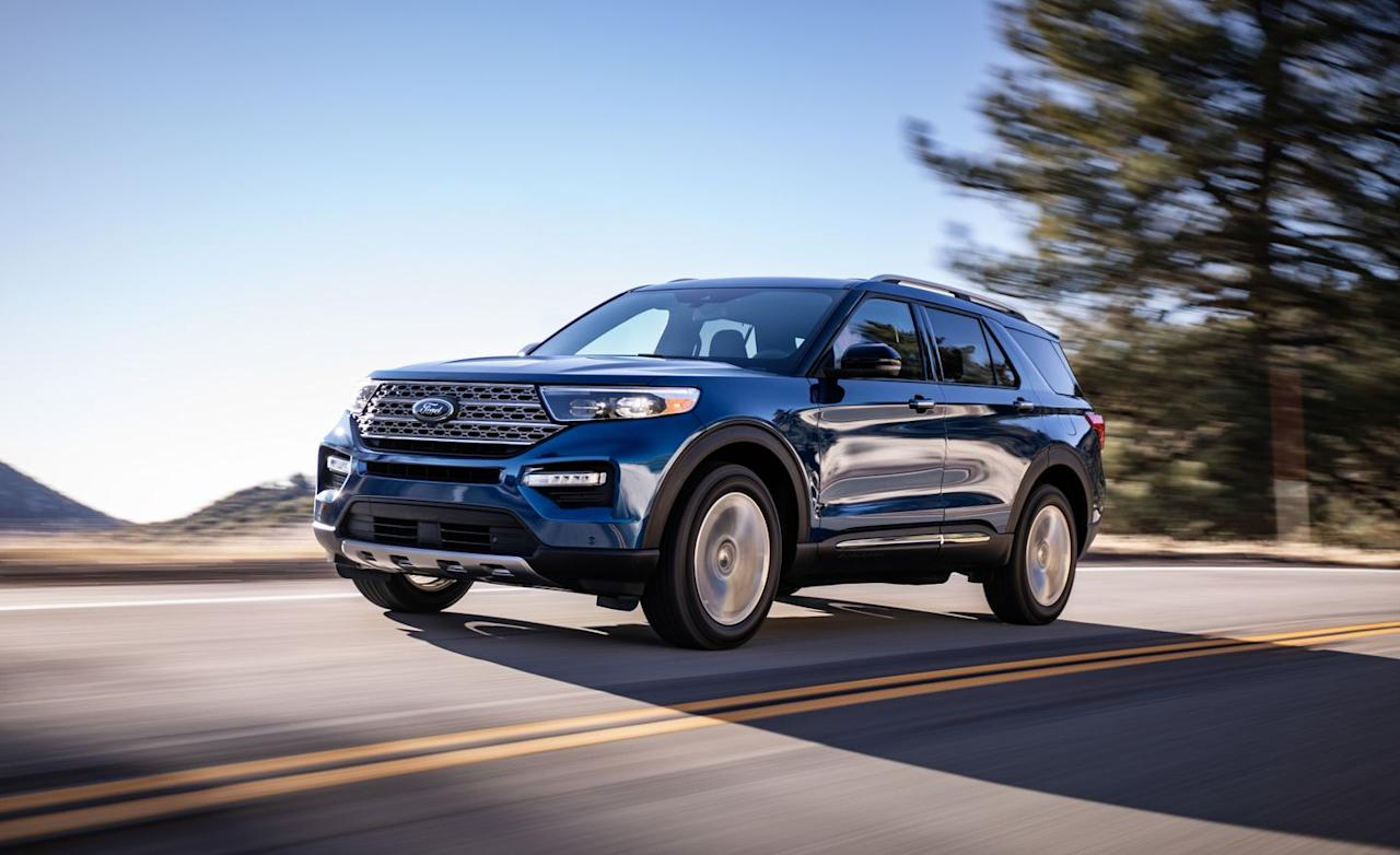 <p>Although that remains the layout for the overwhelming majority of entries in this class, the redesigned 2020 Explorer switches back to a longitudinal-engine, rear-drive-based configuration.</p>