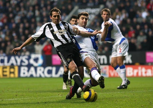 Michael Chopra came through the ranks at hometown club Newcastle