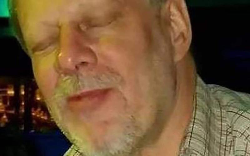 Stephen C Paddock, 64, killed himself before armed police blasted their way into his hotel room - AFP