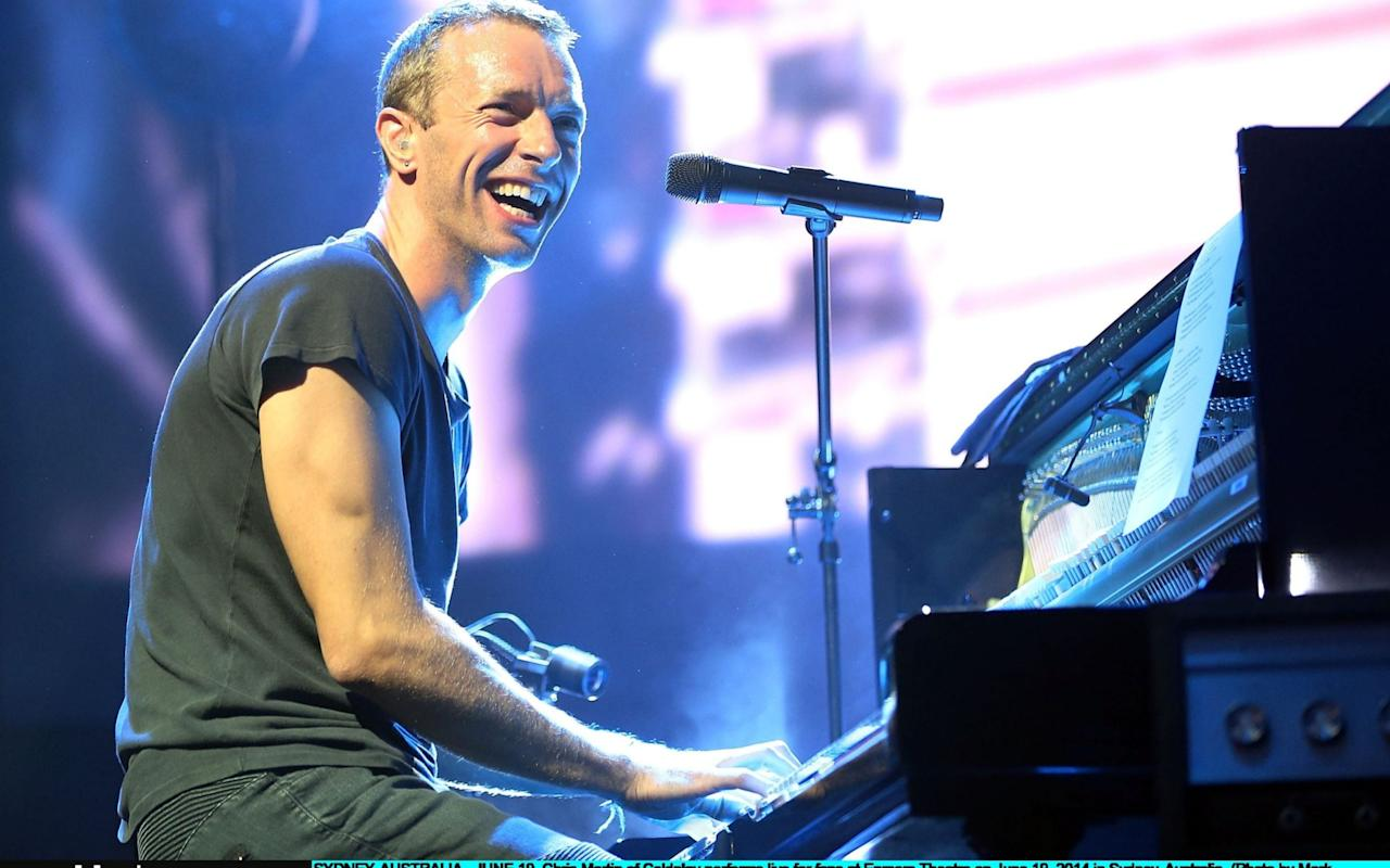 Chris Martin - Getty Images