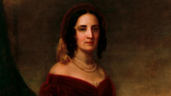 Sara Polk (Wikipedia/Public Domain)
