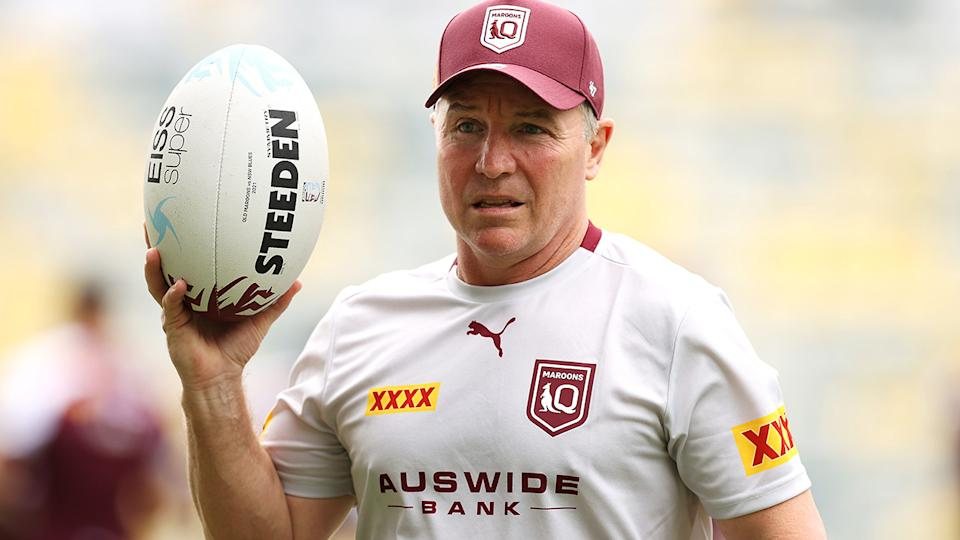 Queensland coach Paul Green is wary of incidental high contact having an overstated impact on State of Origin. (Photo by Mark Kolbe/Getty Images)
