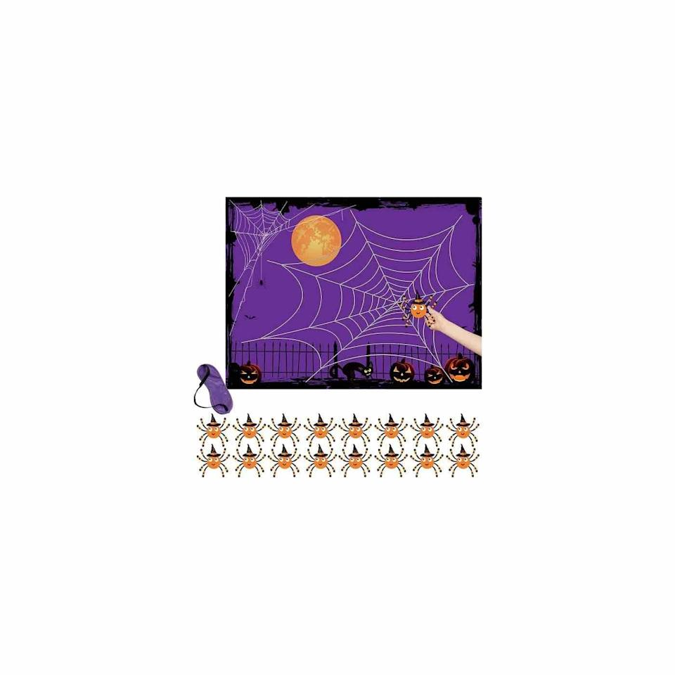 """<p><strong>Thanos</strong></p><p>amazon.com</p><p><strong>$9.99</strong></p><p><a href=""""https://www.amazon.com/dp/B089YVK8YP?tag=syn-yahoo-20&ascsubtag=%5Bartid%7C10072.g.33543751%5Bsrc%7Cyahoo-us"""" rel=""""nofollow noopener"""" target=""""_blank"""" data-ylk=""""slk:Shop Now"""" class=""""link rapid-noclick-resp"""">Shop Now</a></p><p>Here's a game everyone from toddlers to seniors have a fair shot at winning, since each player is blindfolded and spun around before attempting to put their spider onto the center of the web. Traditional rules apply—the closest wins the prize. </p>"""