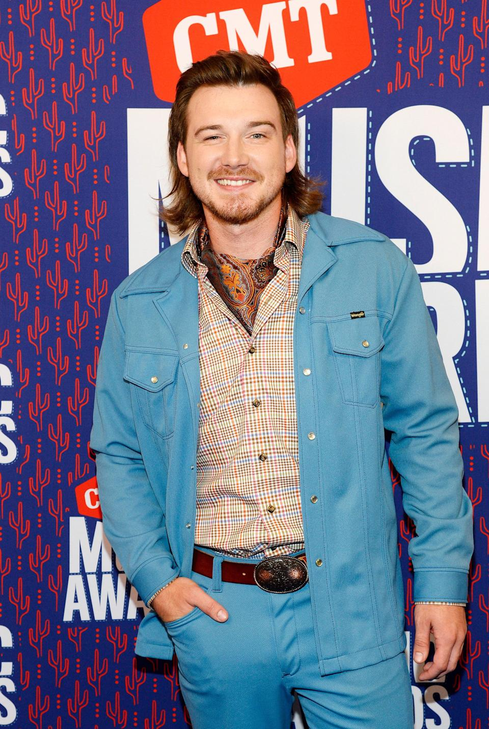 Morgan Wallen at the 2019 CMT Music Awards (Getty Images for CMT)