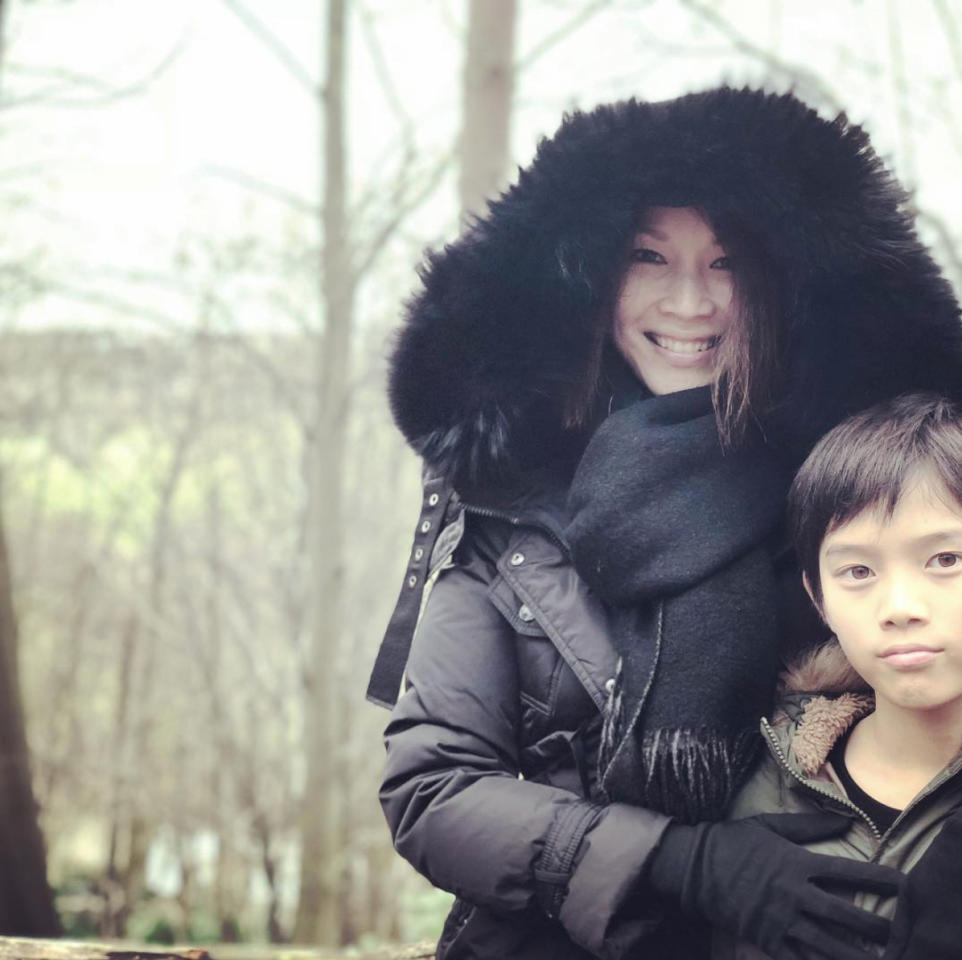 <p>Television actress-turned-public servant Wong Li Lin is spending her holidays with her children in the UK. (Photo: Wong Li Lin/Instagram) </p>