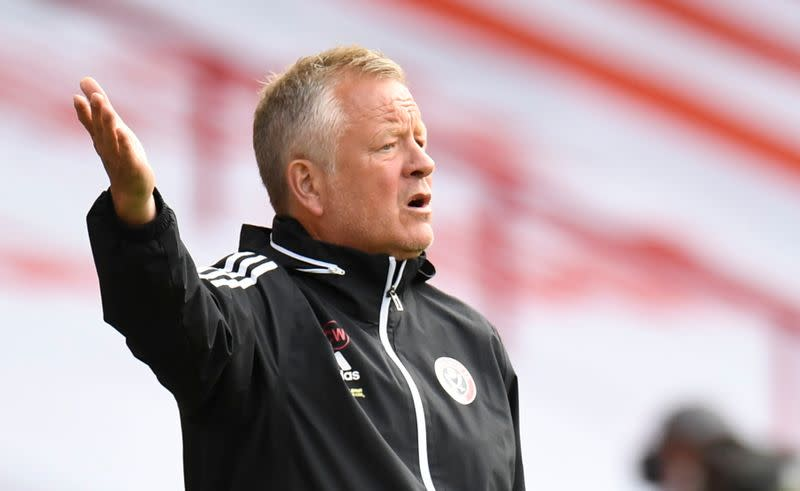 Sheffield United should be proud, says manager Wilder