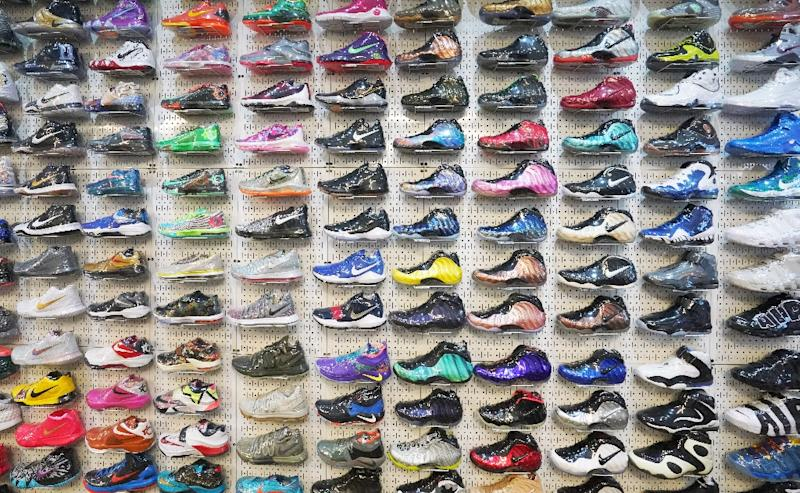 8a9927cc39032 Luxury sneakers  high style and a booming market