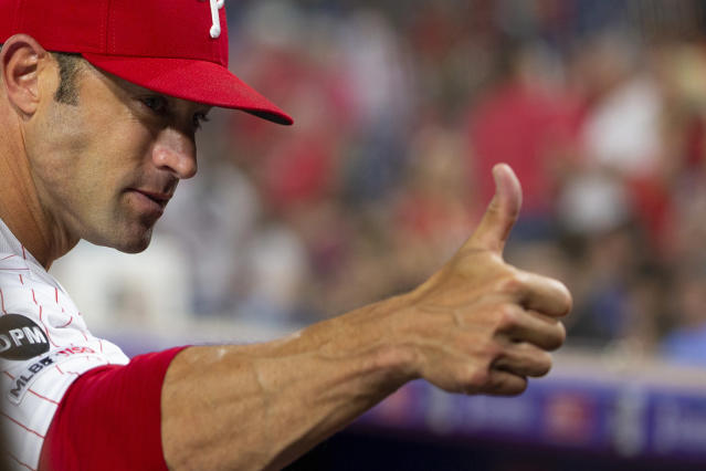 "Gabe Kapler, the new manager of the <a class=""link rapid-noclick-resp"" href=""/mlb/teams/san-francisco/"" data-ylk=""slk:San Francisco Giants"">San Francisco Giants</a>, has some really, really weird eating habits. (Photo by Mitchell Leff/Getty Images)"
