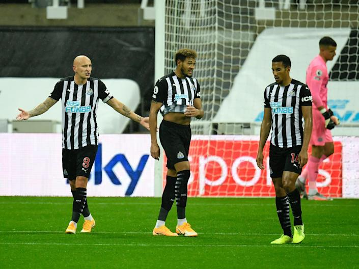 <p>Steve Bruce's side are struggling to get results</p> (Getty Images)