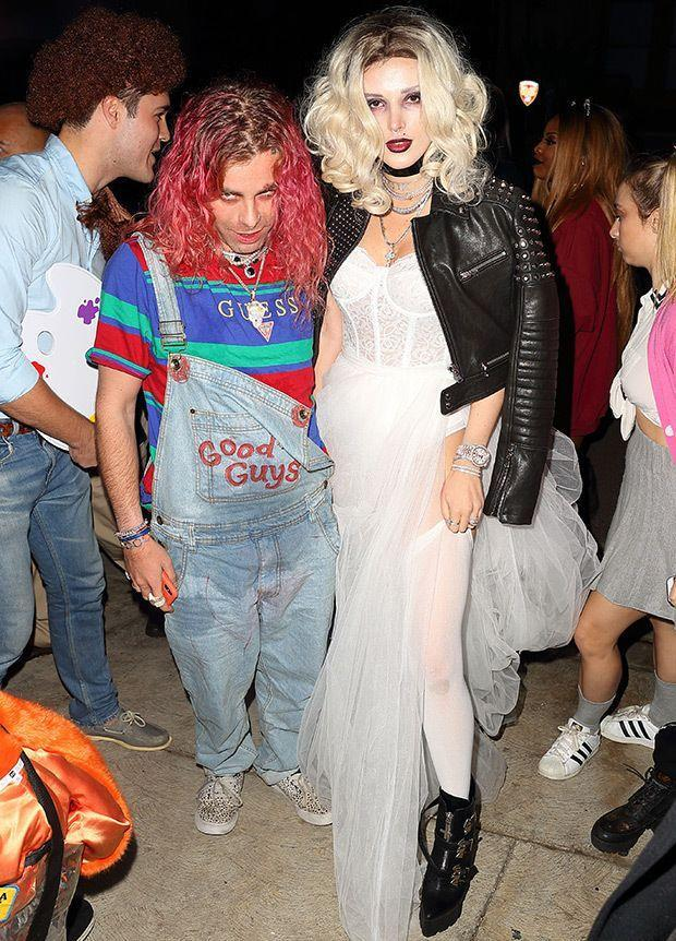 <p>Apparently 2018 is the year of couple's Halloween costumes. Bella paired up with her now ex-boyfriend, rapper Mod Sun, to dress as Chucky and the Bride of Chucky. </p>