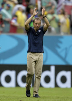 Klinsmann told his players to book their flights home after the July 13 final. (AP)