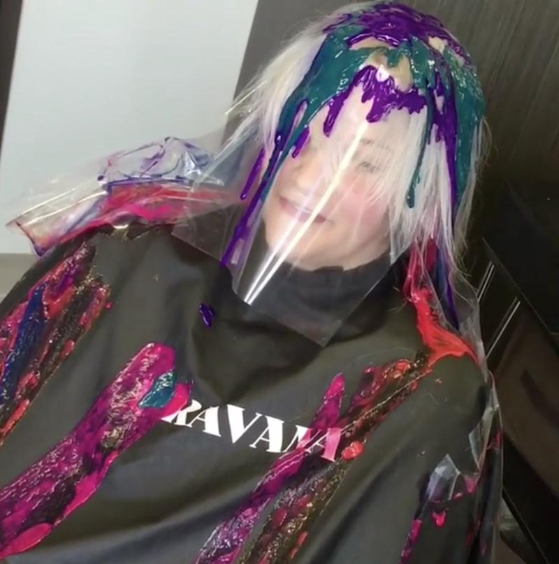 Drip Hair Color Is The New Dyeing Technique Going Viral On Instagram