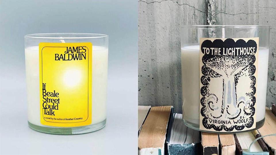 Noble Objects is offering candles inspired by celebrated LGBTQ authors for Pride Month 2021.