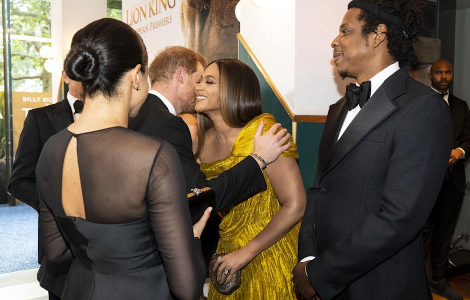 The power couples swapped parenting tips [Photo: Getty]
