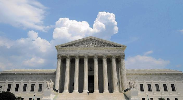The U.S. Supreme Court building.