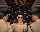 <strong>Starring: </strong>Akshay Kumar, Katrina Kaif; <strong>Director: </strong>Rohit Shetty; <strong>Release date: </strong>March 27