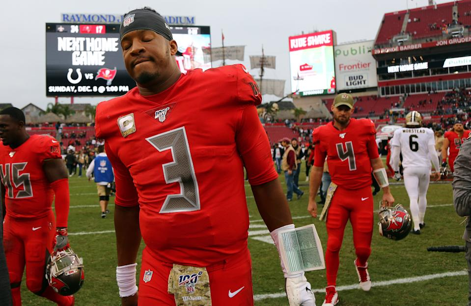 It's long past time for the Bucs to look beyond Jameis Winston. (Kim Klement/USA Today)