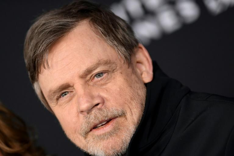 "US actor Mark Hamill (pictured December 2019) said he decided to delete his Facebook account because he was so ""disappointed"" with the social media giant"