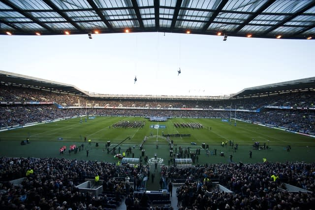 BT Murrayfield could be used for multiple sports in Scotland (Lenny Warren/PA)
