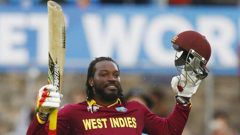 Chris Gayle scored his first ever double century during the 2015 ICC World Cup.
