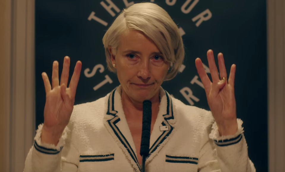 Emma Thompson plays a celebrity political candidate with radical views in this six-part dystopian thriller that originally aired on BBC One. Hmmm...sound familiar? It's definitely worth watching–but only when you're mentally ready.