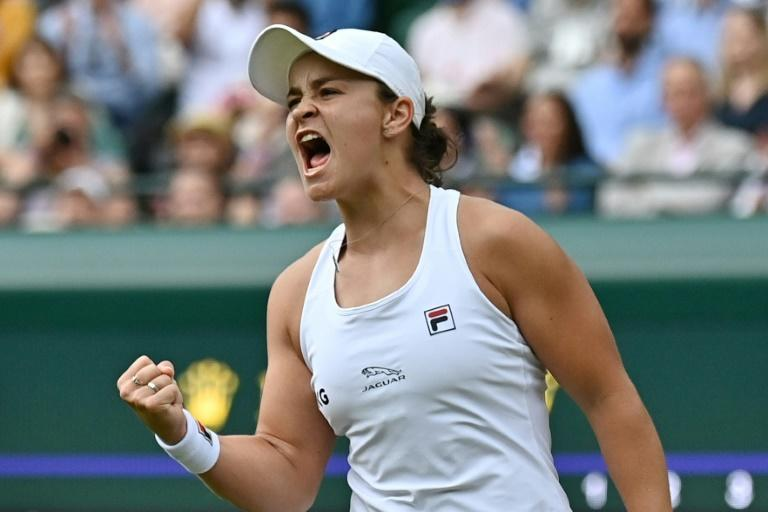 Ashleigh Barty is into her first Wimbledon quarter-final and her desire to go on and win the title this year is fired by it being the 50th anniversary of fellow indigenous Australian Evonne Goolagong Cawley's first victory