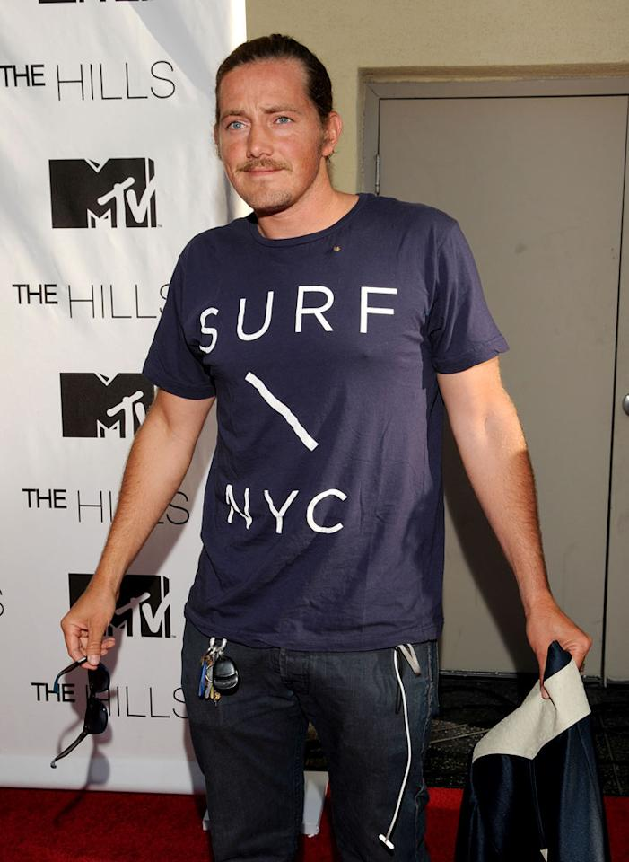 "Charlie Smith attends MTV's ""The Hills Live: A Hollywood Ending"" Finale at The Roosevelt Hotel on July 13, 2010 in Hollywood, California."