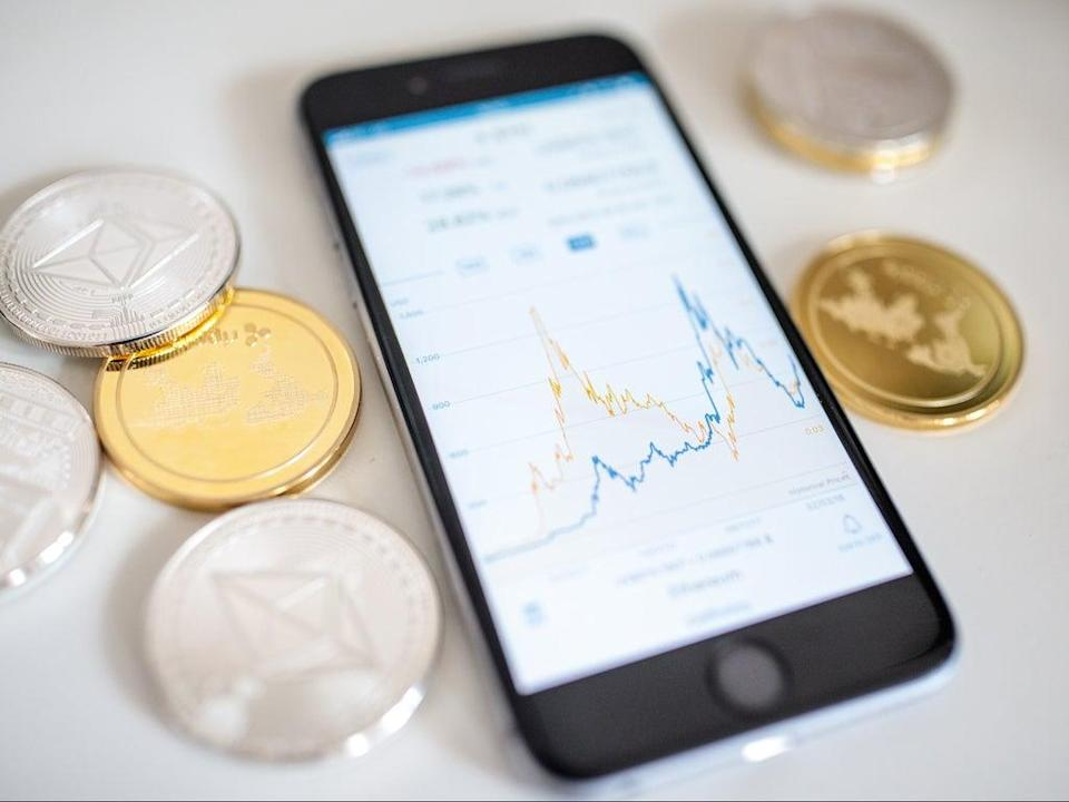 The price of litecoin spiked on 13 September 2021 after a fake Walmart news alert  (Getty Images)