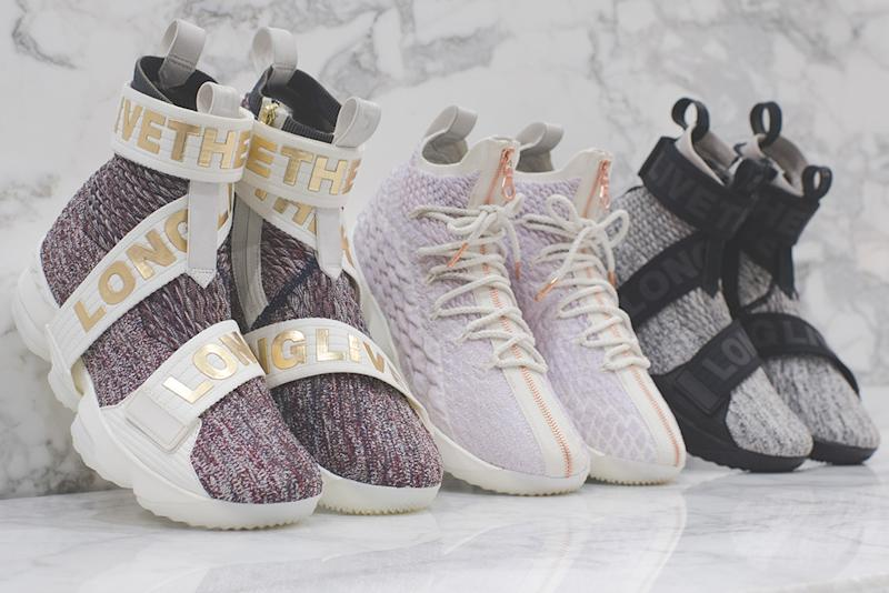 5c181fdc938 How and When You Can Buy the Kith x Nike LeBron 15 Long  Live the King   Sneakers