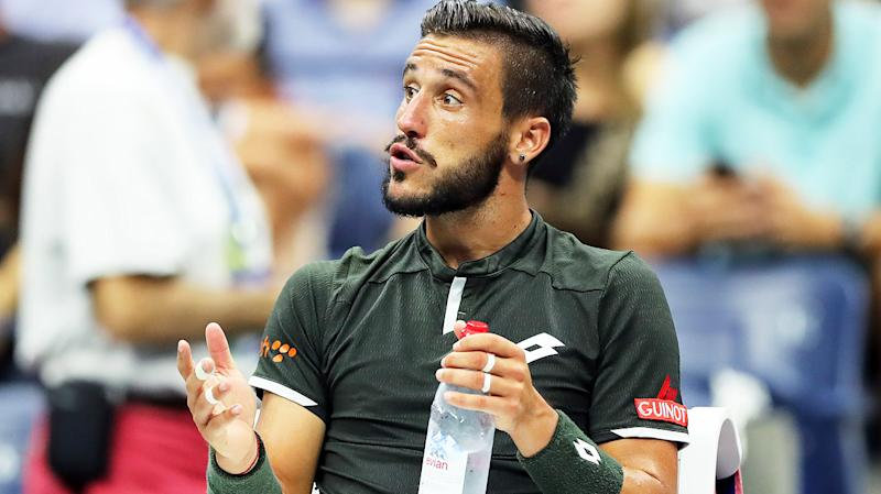 Damir Dzumhur was one player who was withdrawn from French Open qualifying after his coach tested positive for coronavirus. (Getty Images)