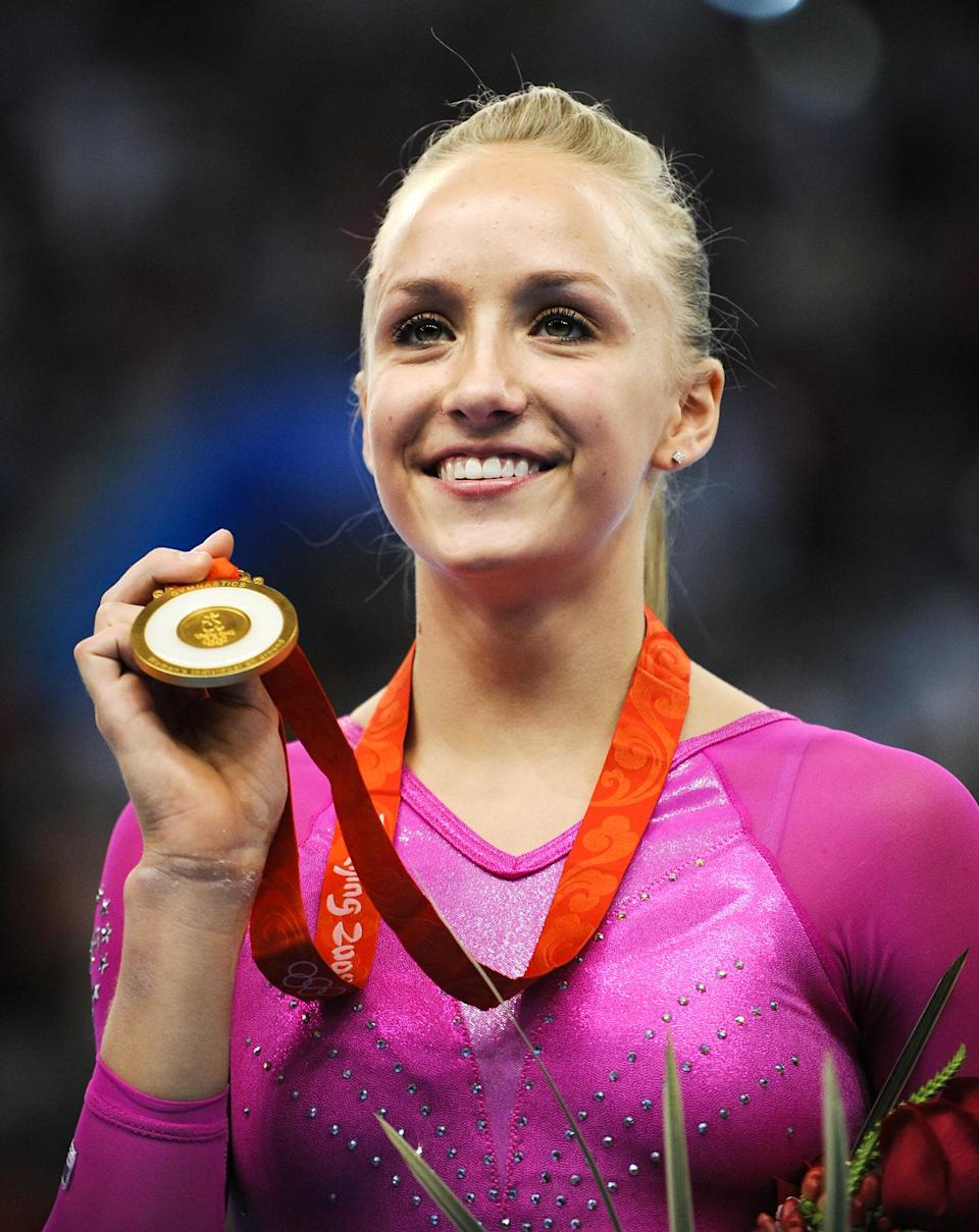 <p><strong>Year she won:</strong> 2008</p> <p><strong>Age at the time:</strong> 18</p> <p><strong>Other medals:</strong> Three silver and one bronze from the team competition and three individual events in 2008</p>