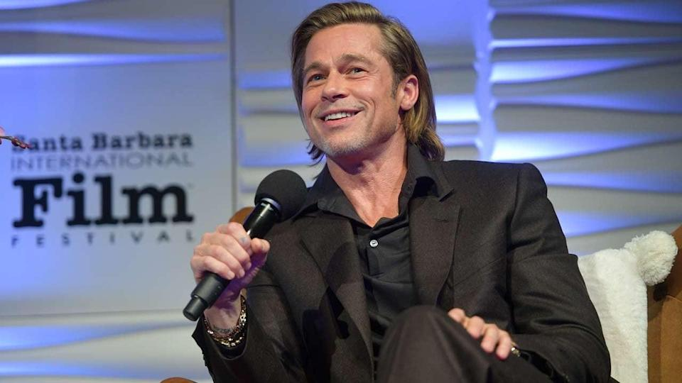 The 'Once Upon a Time In Hollywood' star was honored for his contributions to film on Wednesday.