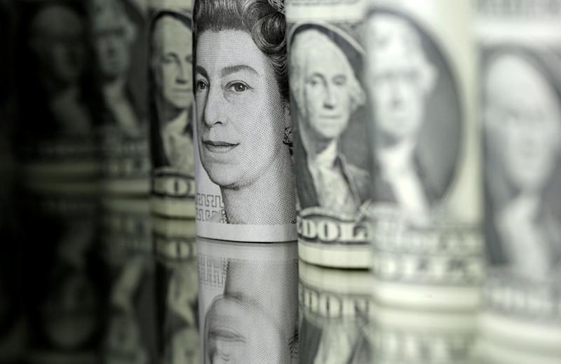 Sterling is surging against the dollar: REUTERS