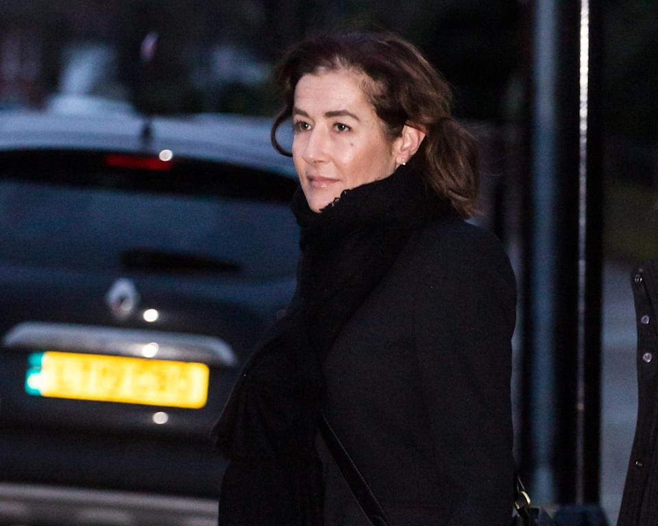 Emma Langford leaves Isleworth Crown Court in West London in January. (SWNS)