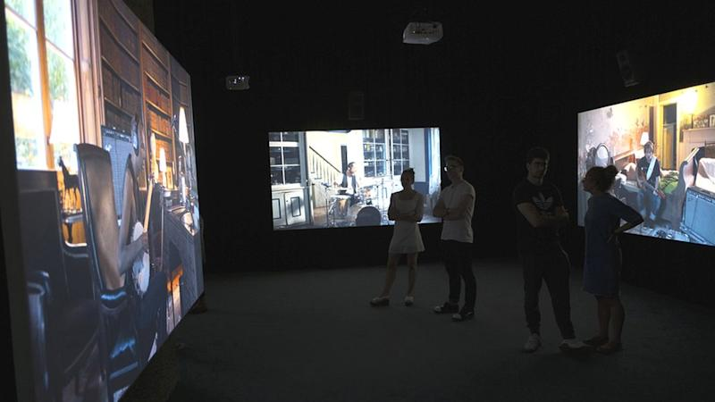 The Icelandic artist, Ragnar Kjartansson said he was exploring a Chekhovian state of mind in The Visitors, which was shown at the Barbican in 2016