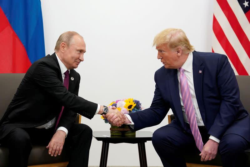 Trump, Putin discussed Russia attack, arms control, relations - White House