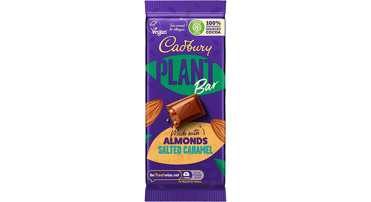 You'll be able to get the bars from Sainsbury's next month. (Cadbury)