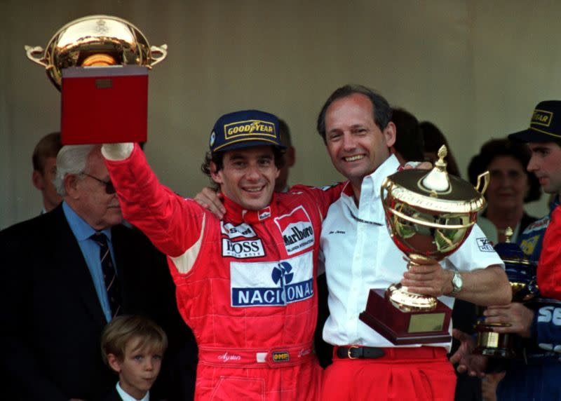 FILE PHOTO: Died on May 1, 1994: Ayrton Senna, Brazilian Formula One driver